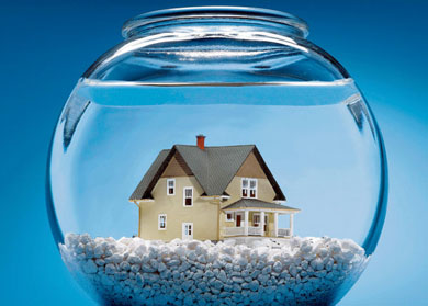 Homes Underwater Cause Bankruptcy