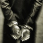 whitecollar handcuffs black and white
